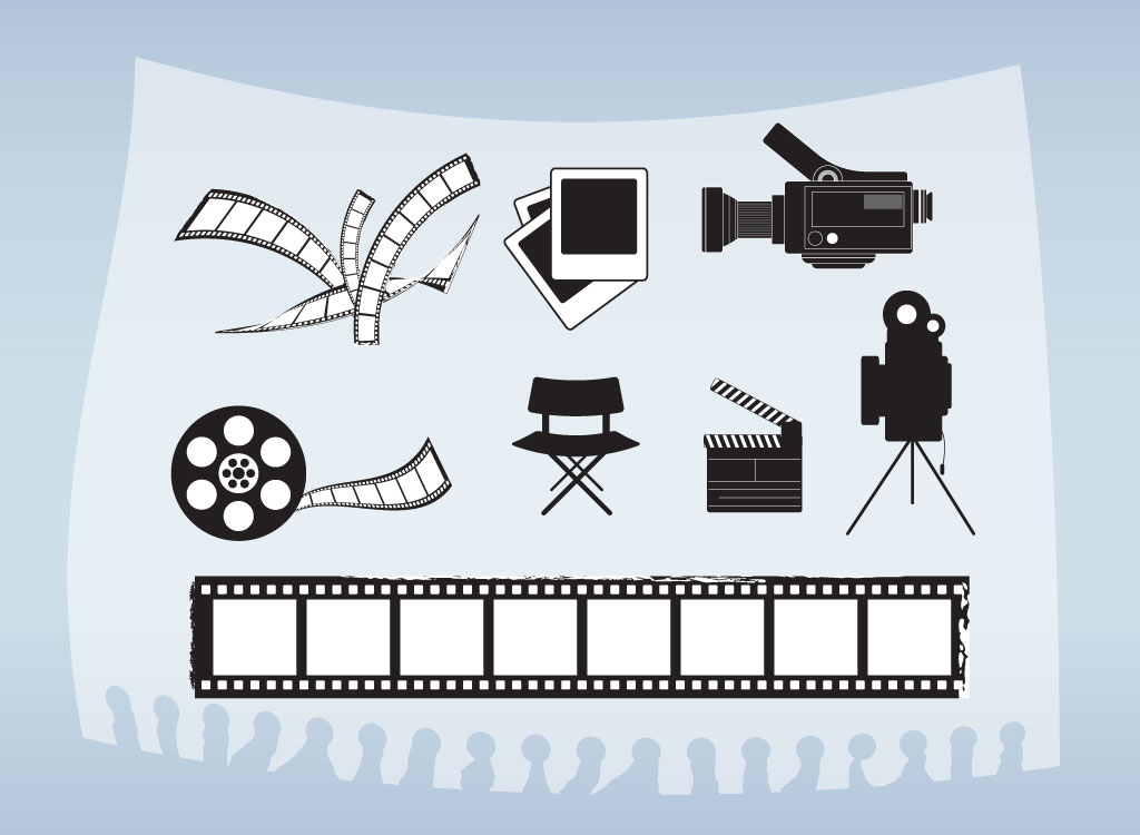 Movie And Film Vectors.