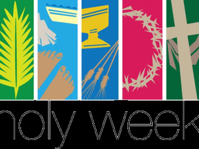 Pray Clipart Holy Week.