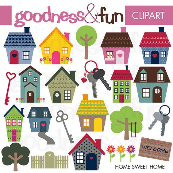 free clipart home.