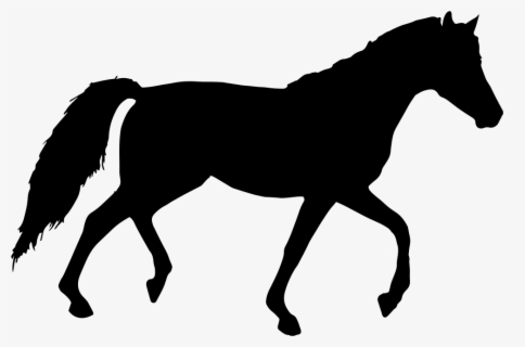 Free Horse Silhouette Clip Art with No Background.