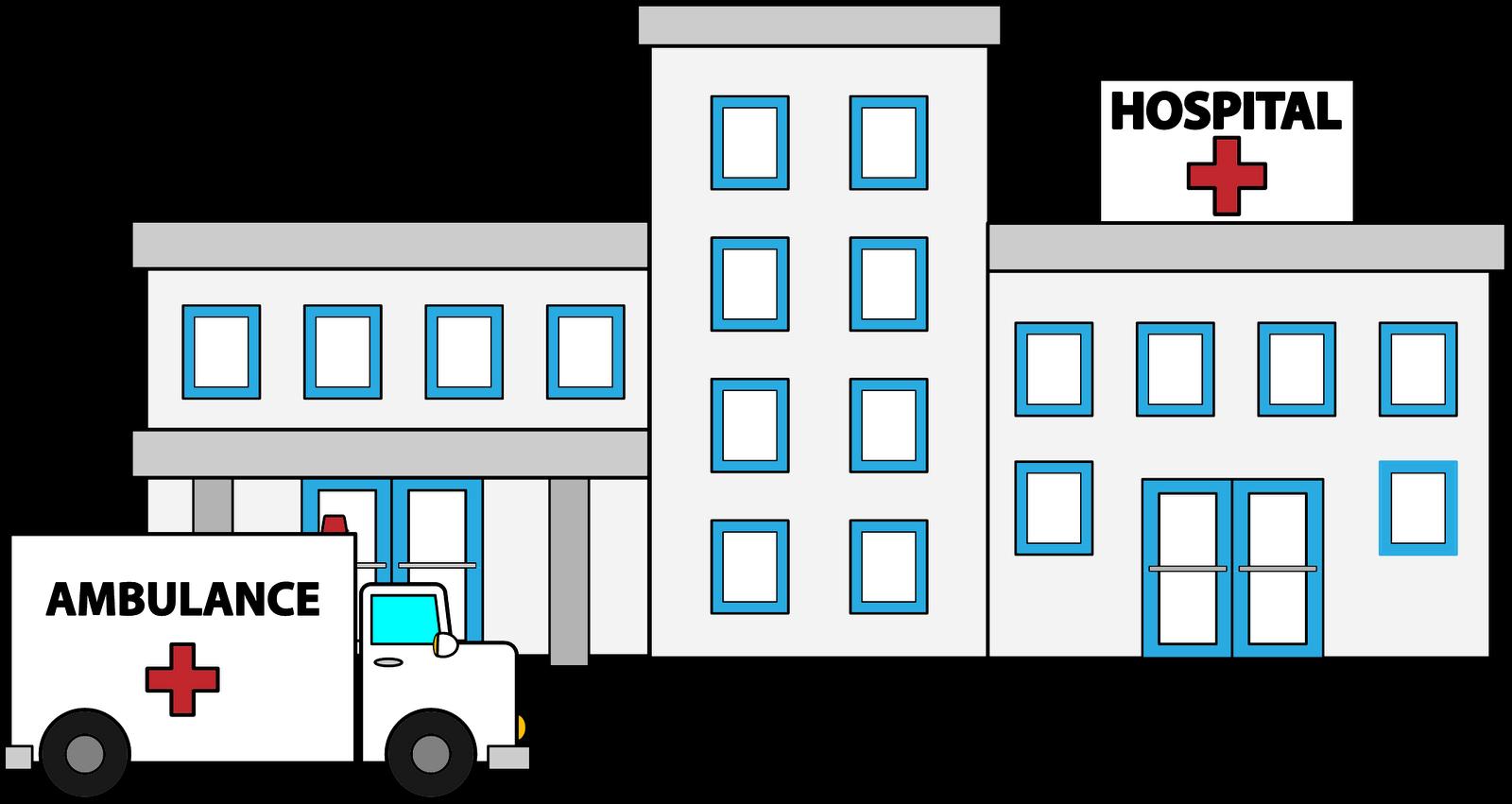 Hospitals Clipart.