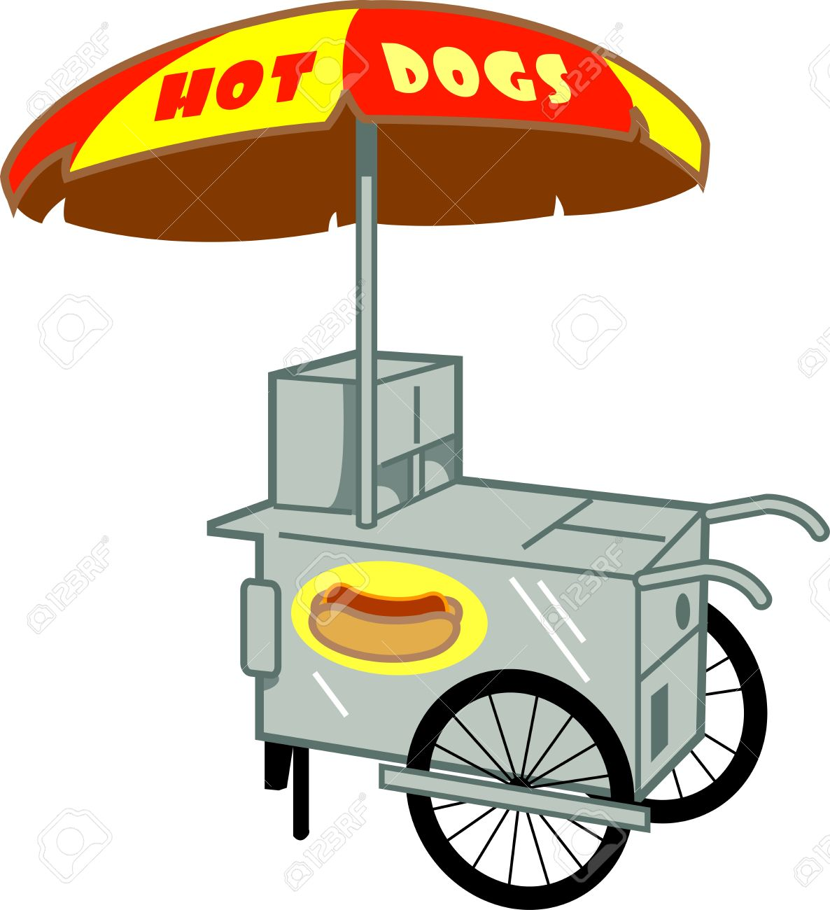 475 Hot Dog Cart Stock Illustrations, Cliparts And Royalty Free.