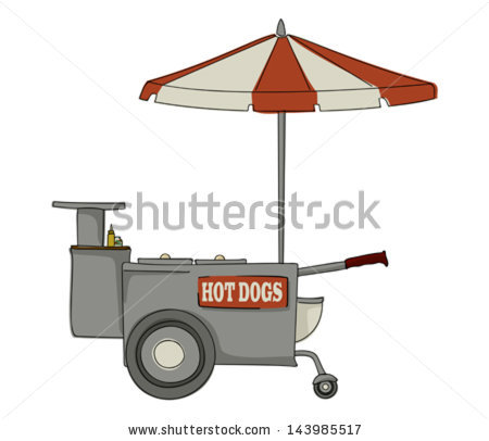 Hot Dog Stand Stock Vectors, Images & Vector Art.