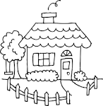 Free Clipart House And Yard.