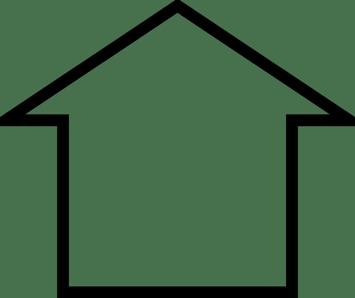 Free clipart house outline 5 » Clipart Portal.