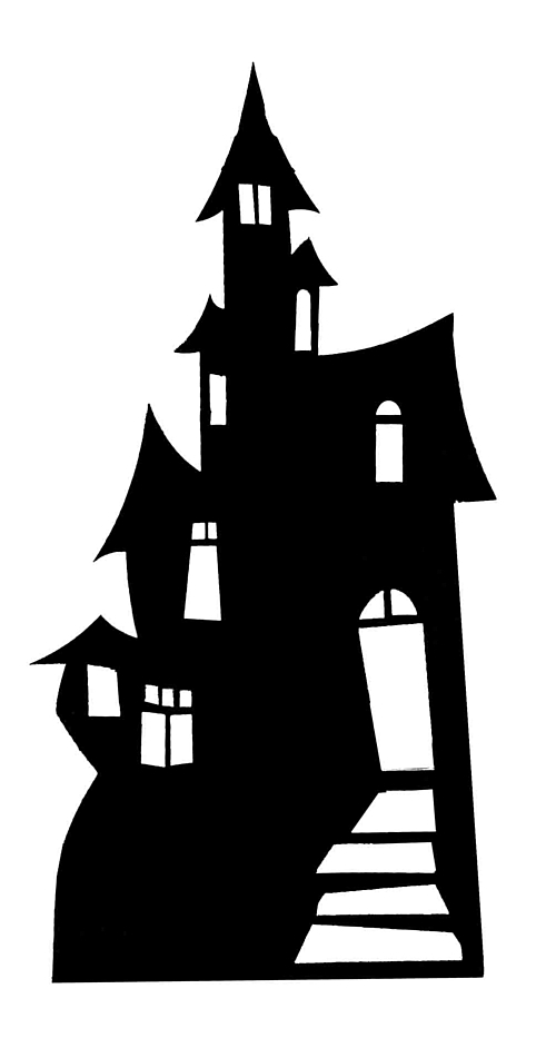 Silhouette Of A House.
