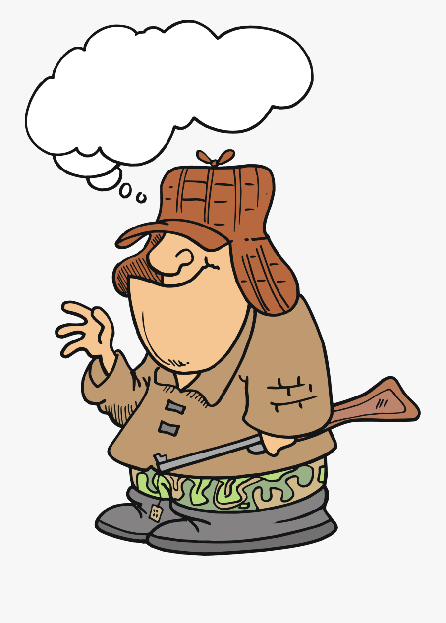 Free Cartoon Hunter Vector Art Clip Art Image From.