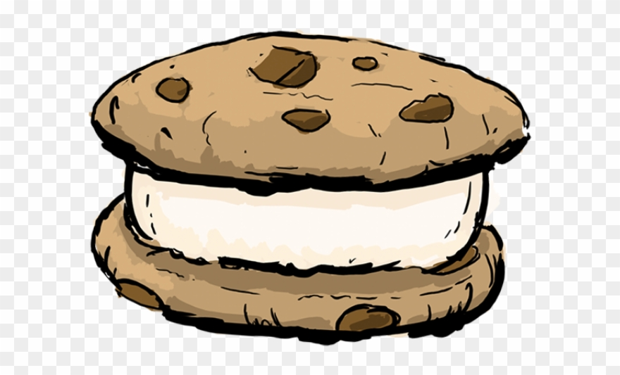 Ice Cream Clipart Sandwhich.