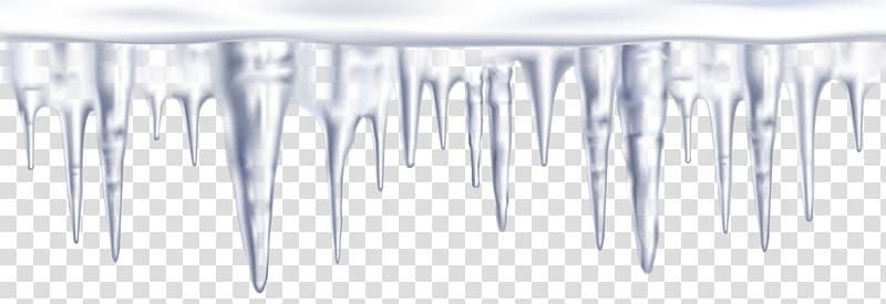 Icicles illustration, Icicle , Icicles Border transparent.