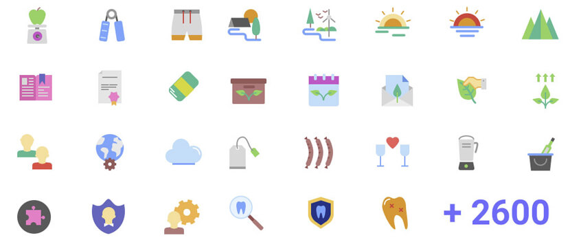 The Best Free Icon Packs Everyone Must Download in 2020.