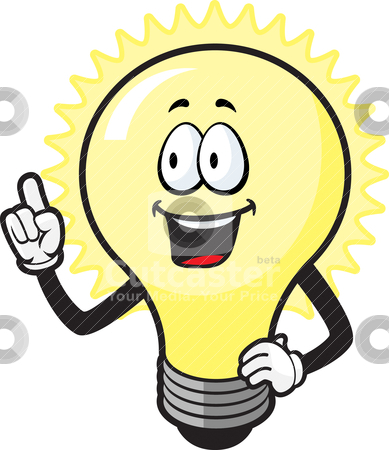 Bulb Idea Clipart.