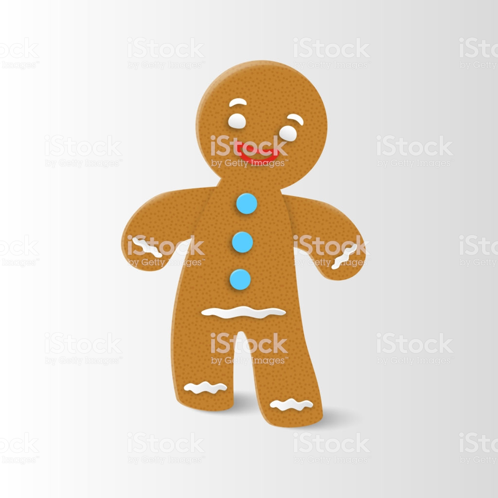 Gingerbread Man Clipart Group (+), HD Clipart.