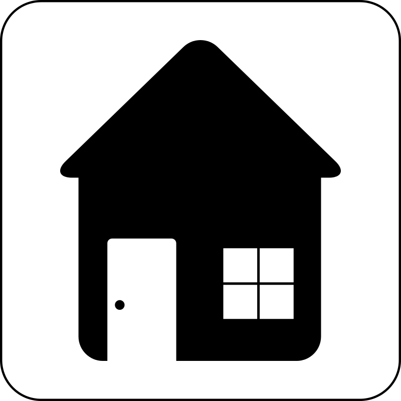 Free Clipart: House Icon.