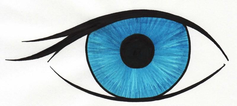 Blue Eyes Clipart#2224694.