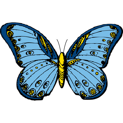 Free Butterfly Clip Art Graphics.