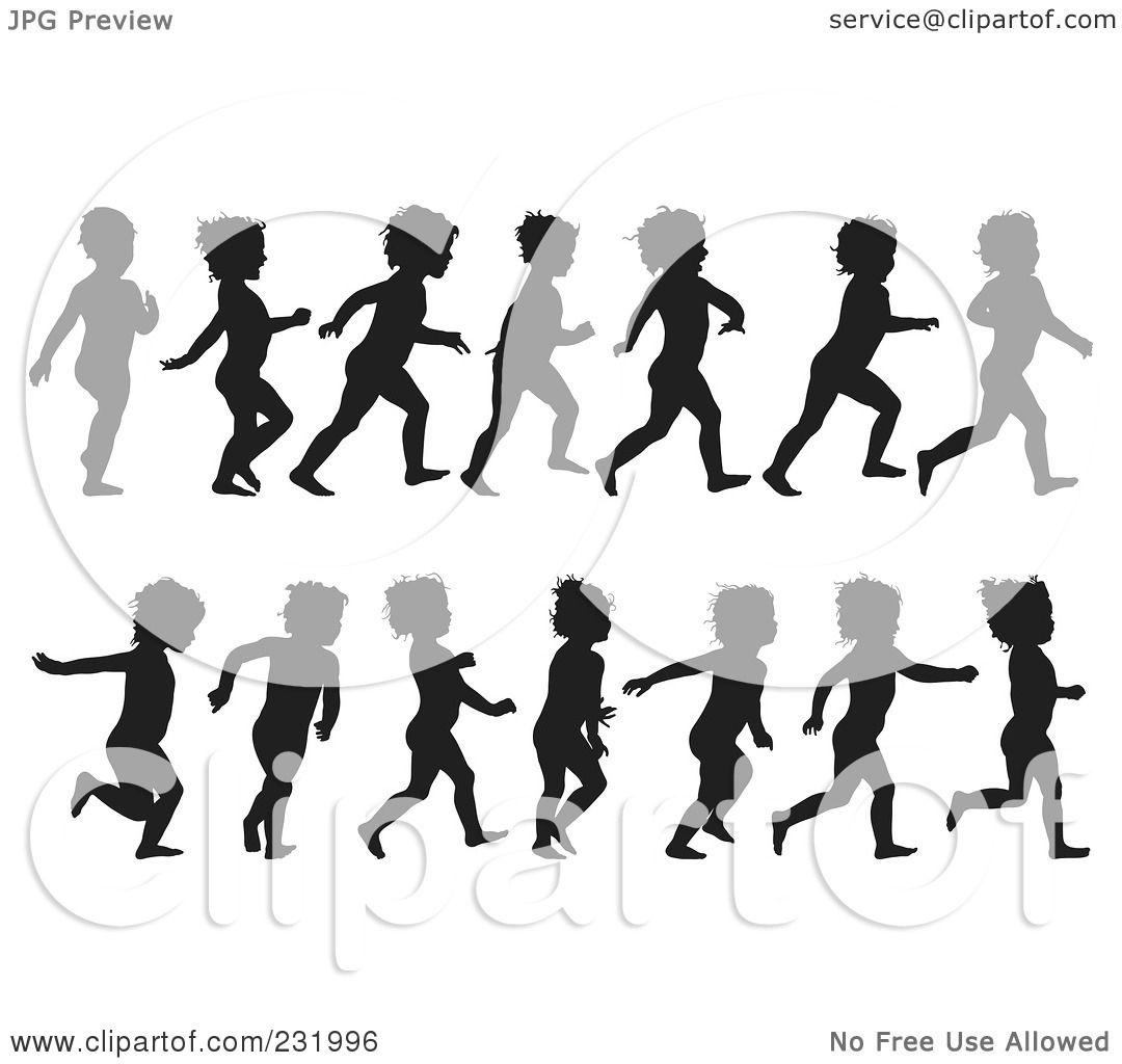 child running clipart.