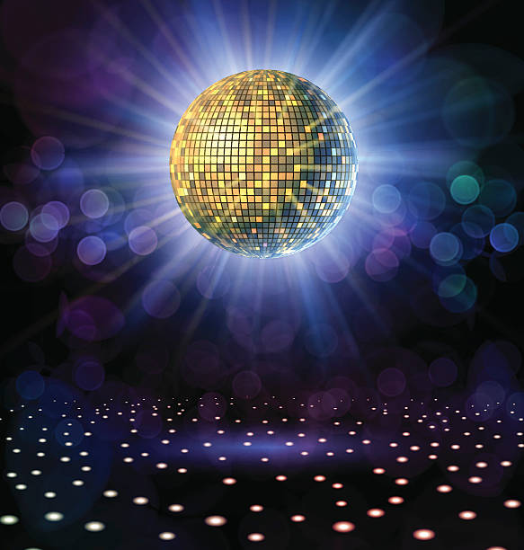 Best Disco Ball Illustrations, Royalty.