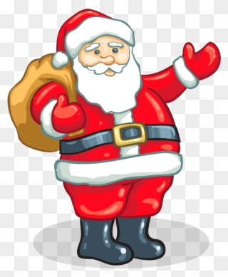 Free PNG Father Christmas Clip Art Download.