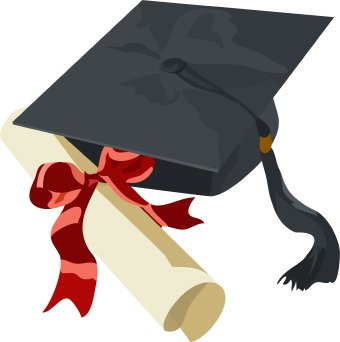 1469 Graduation Cap free clipart.
