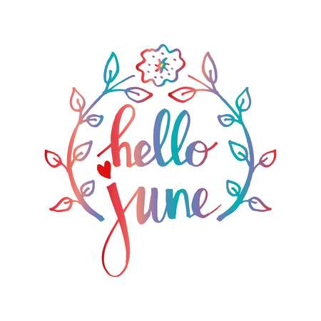 june clipart.