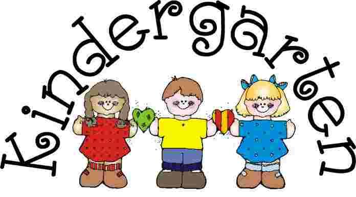 Cliparts Library: School Kindergarten Clipart Free.