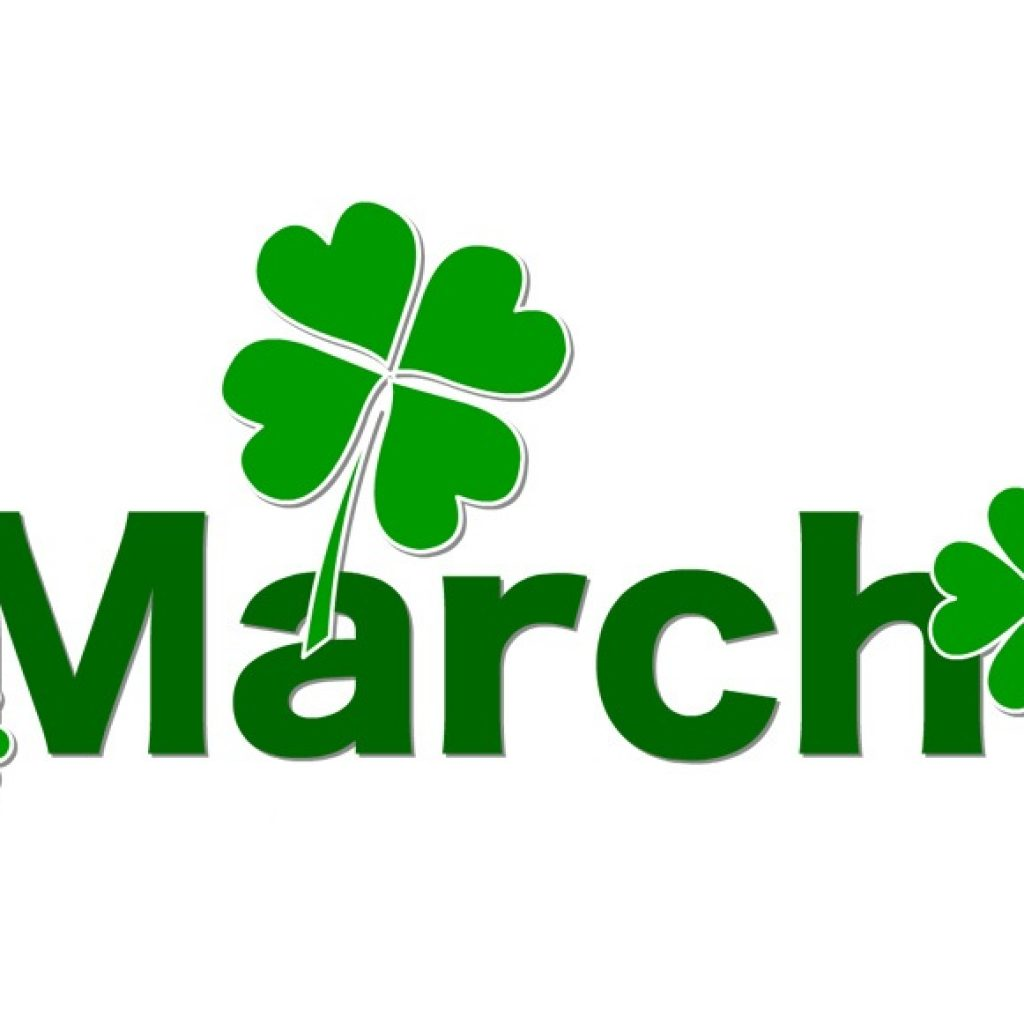 Free Clipart For March.