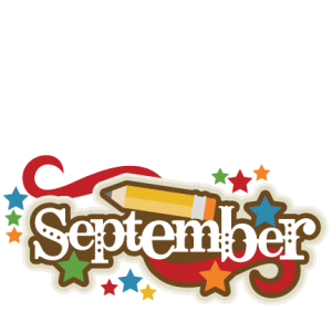 September Title SVG scrapbook cut file cute clipart files for.