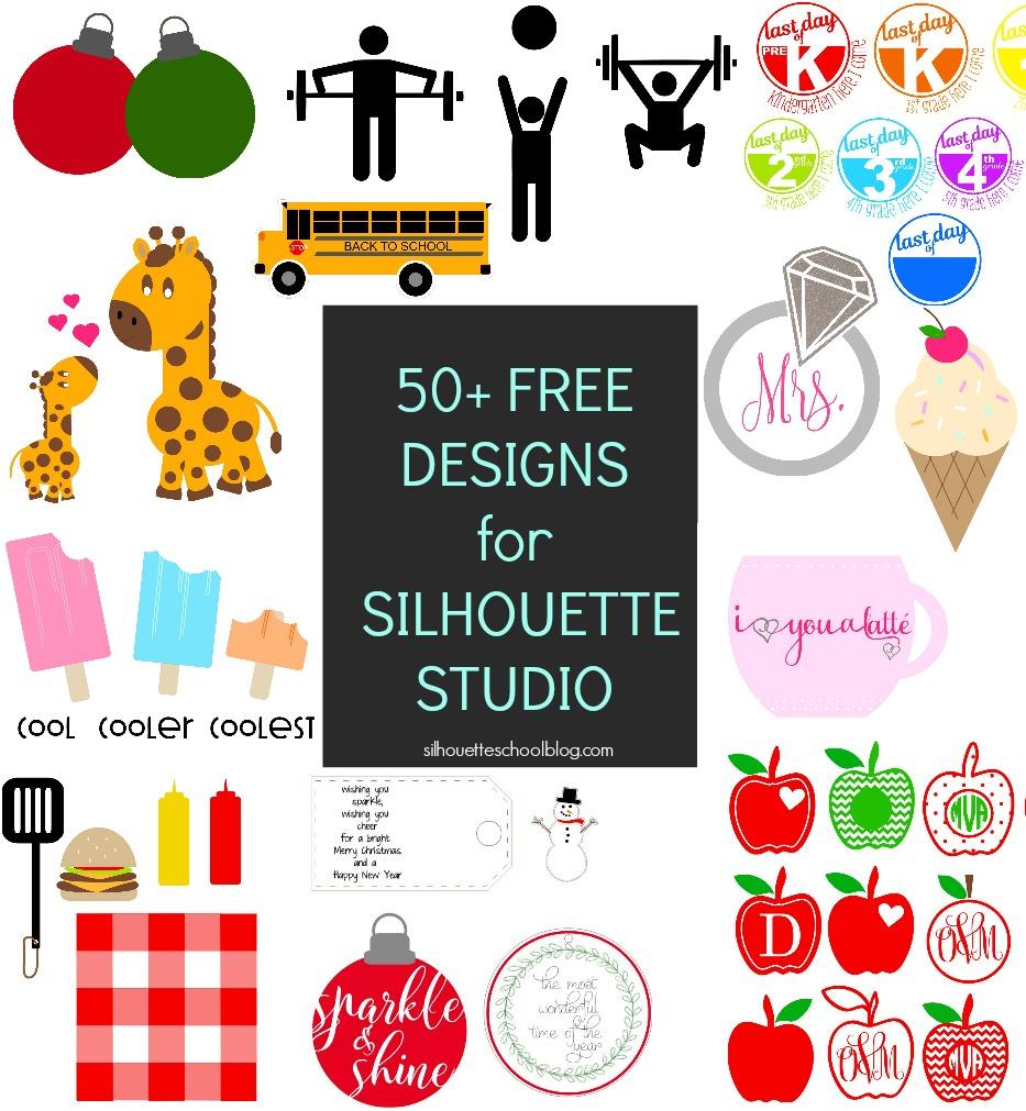 Free Silhouette Cameo Designs.