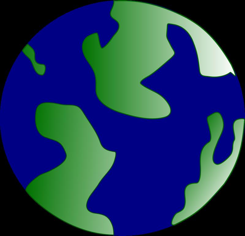 Free Clipart: Pseudo globe.
