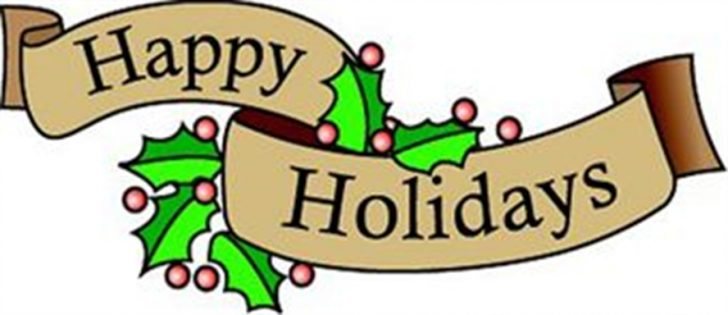 free clipart happy holidays greeting Archives.