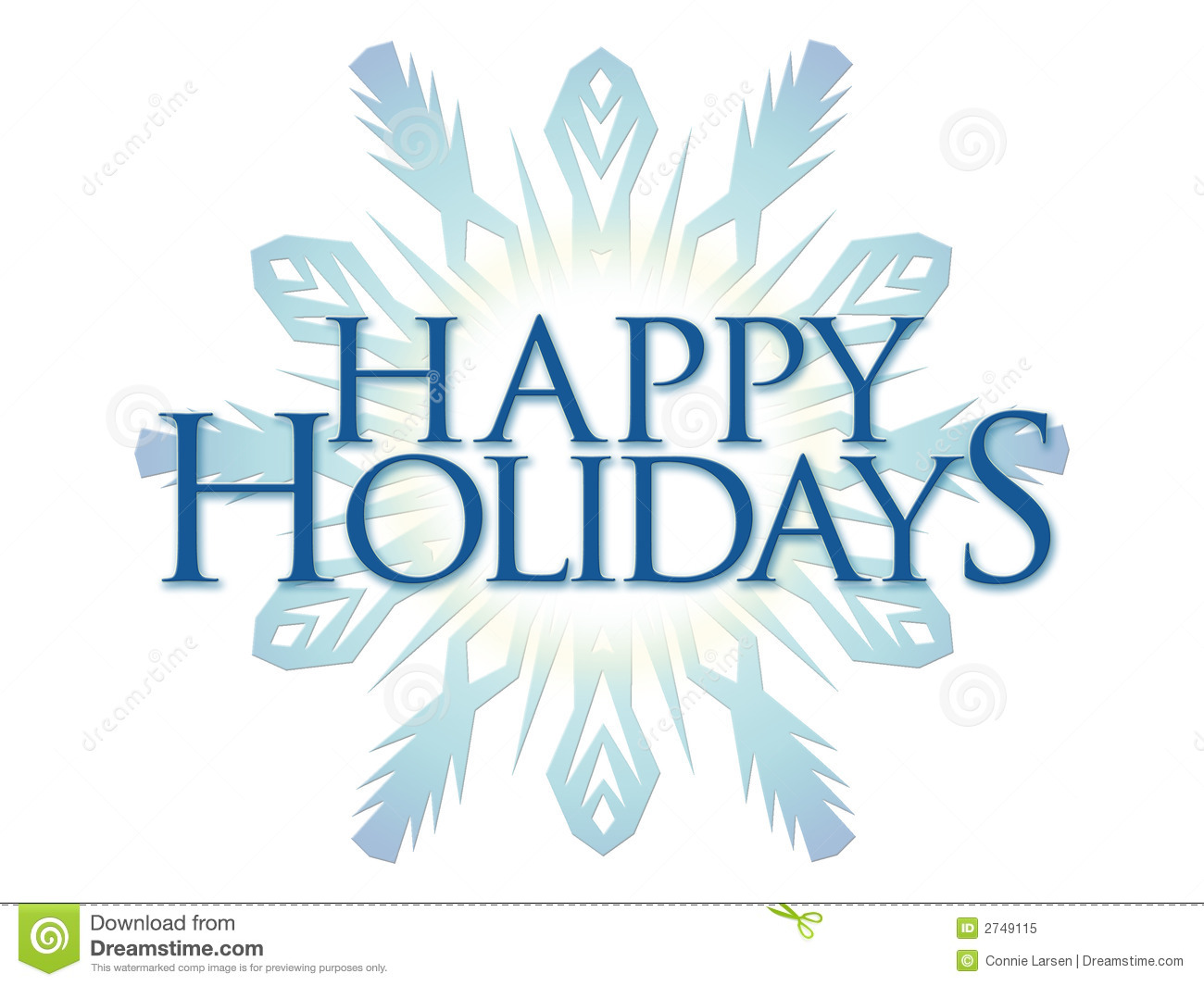 Happy Holidays Royalty Free Stock Photo.