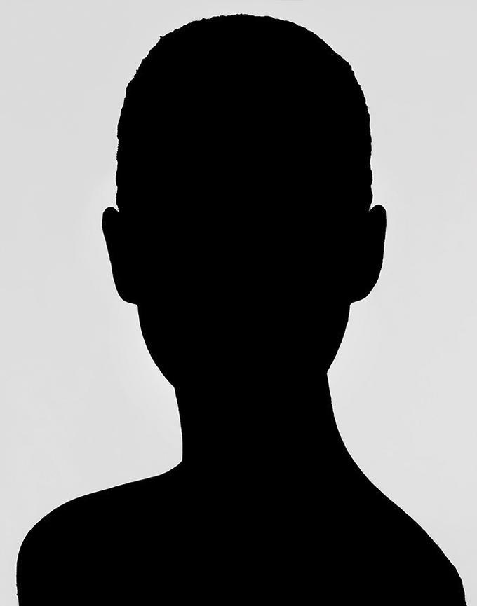 Headshot Silhouette.