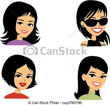 Headshot Illustrations and Stock Art. 625 Headshot illustration.