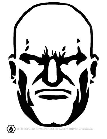 FREE Head Shot Target (PDF FILE).