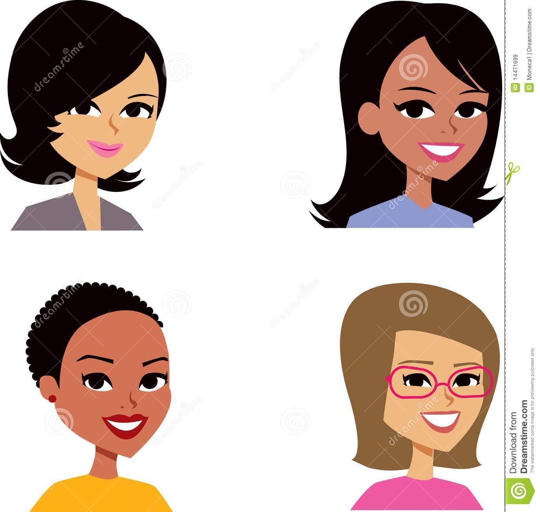 Headshot Stock Illustrations.