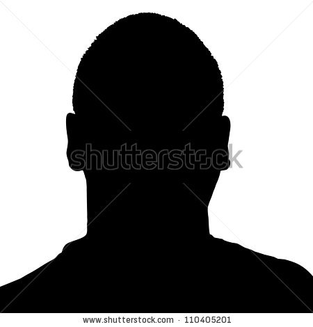 Man Head Silhouette Stock Images, Royalty.