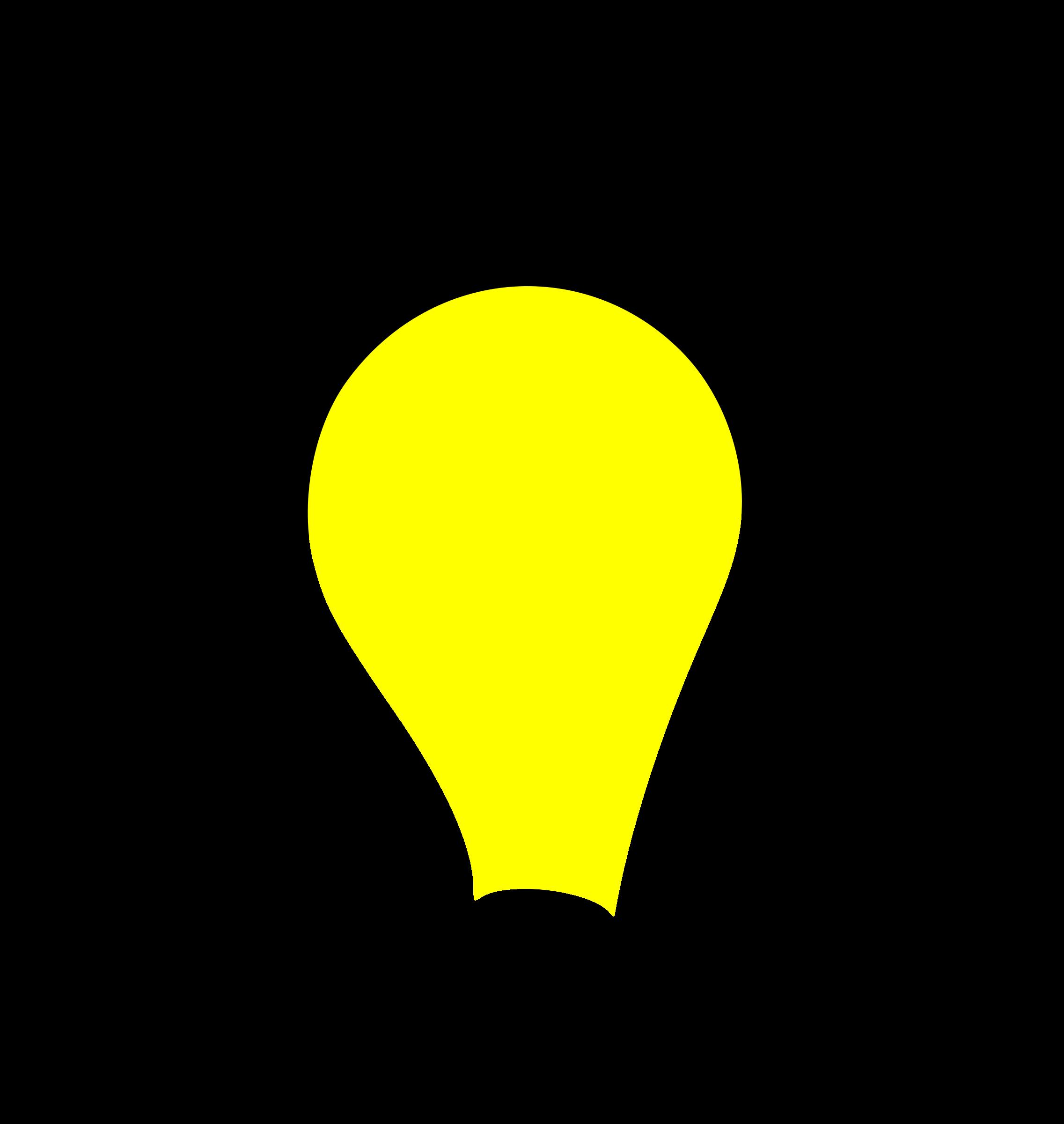 602 Lightbulb free clipart.