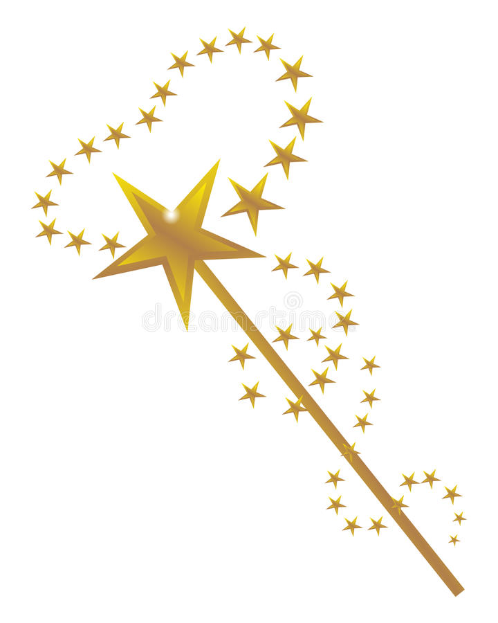 489 Magic Wand free clipart.