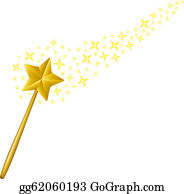 Magic Wand Clip Art.