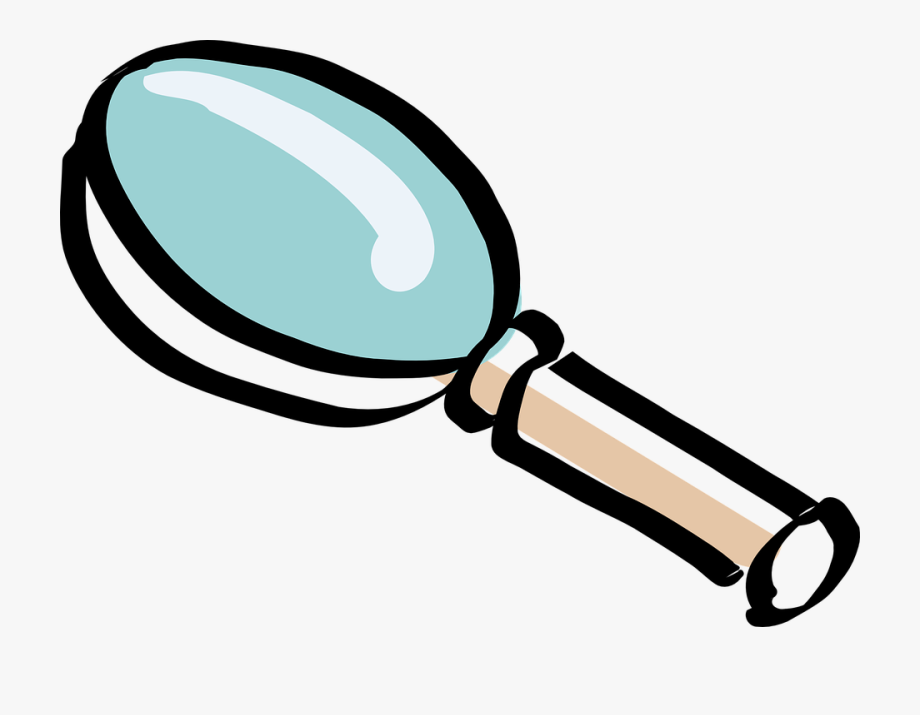 Magnifiying Glass Clipart.
