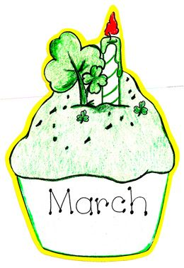 march the name of the month march name of the month hand.