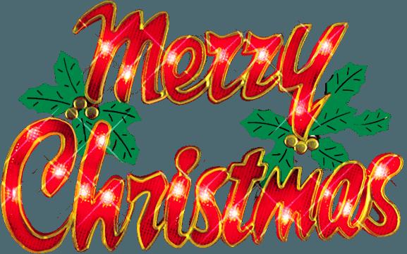 Merry Christmas Clip Art.