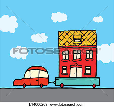 Moving house Clipart Royalty Free. 1,442 moving house clip art.