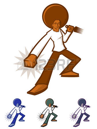 Free clipart images of a man vacuuming without watermarks.