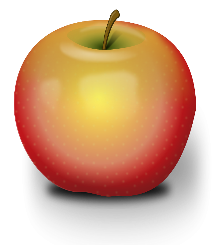 Apple clipart black and white free images.