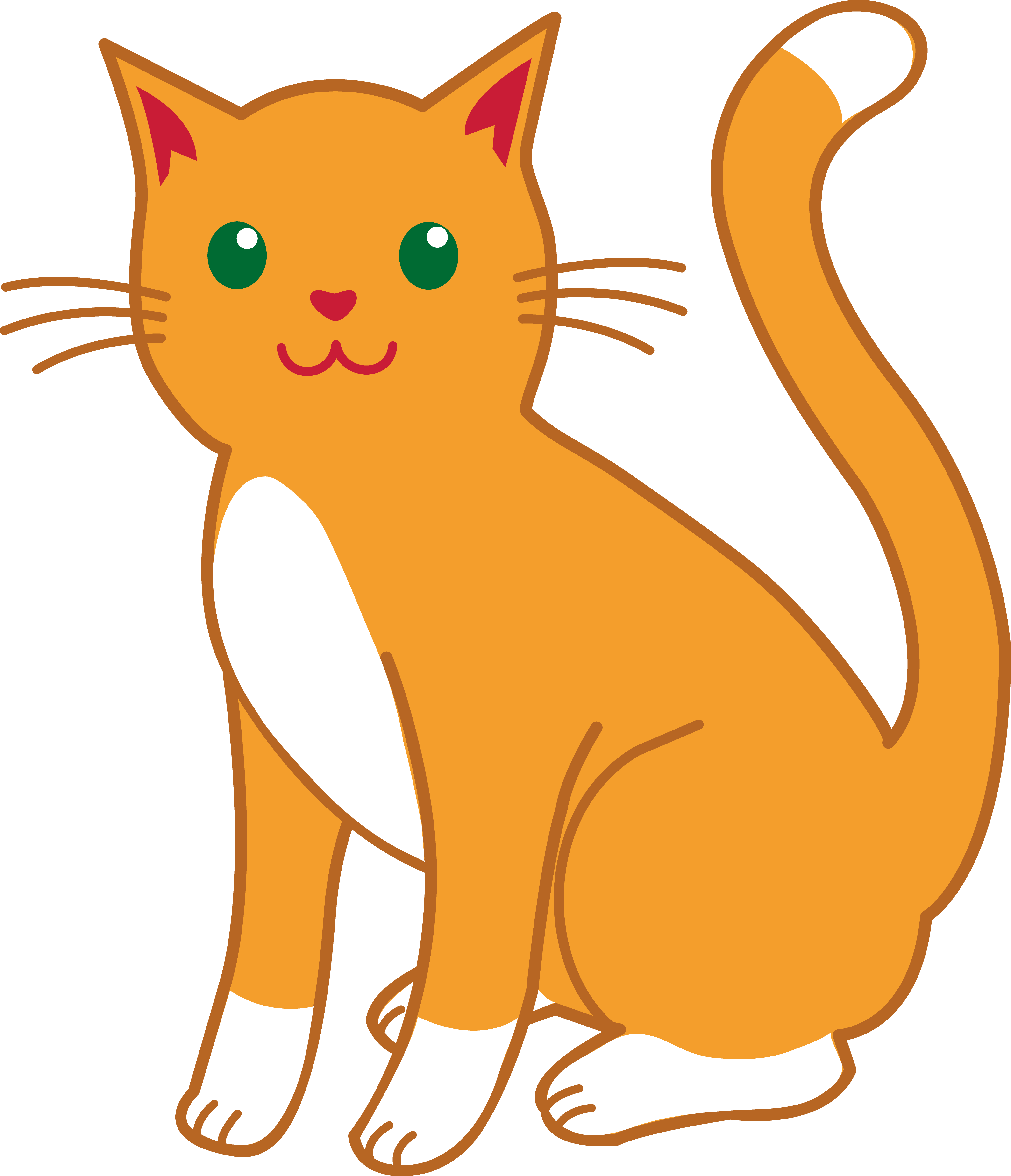 Free Clipart Cat.