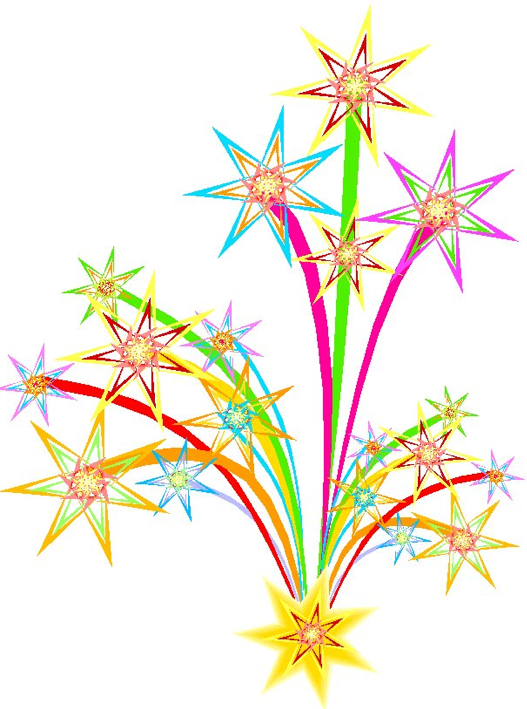 Fireworks clip art microsoft free clipart images.