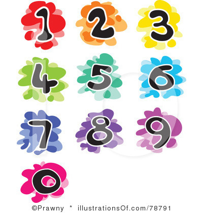 Numbers Free Clipart.
