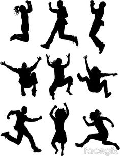 Download wallpaper music, dancing, Silhouettes, figures free.