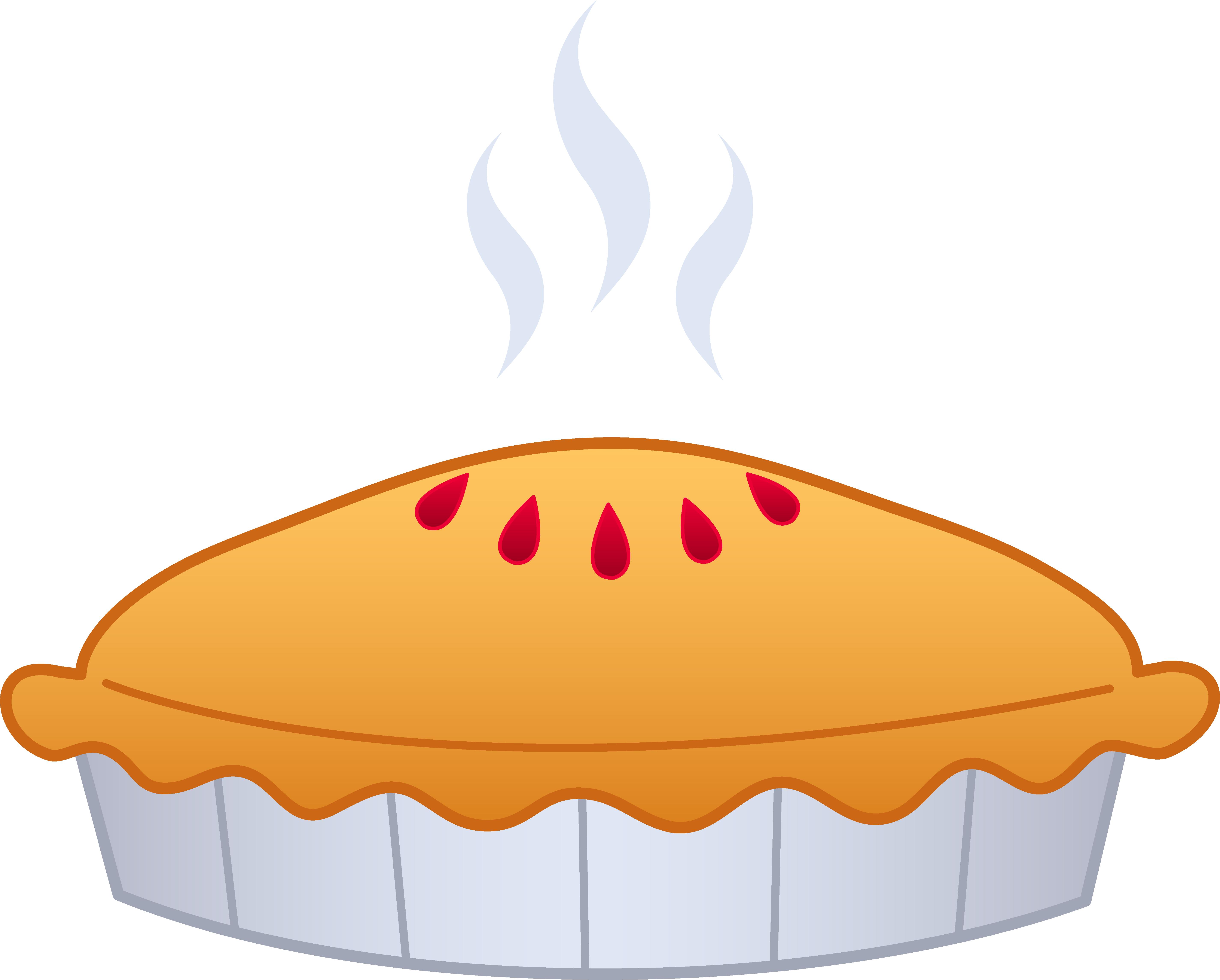 Delicious Pie Clip Art.